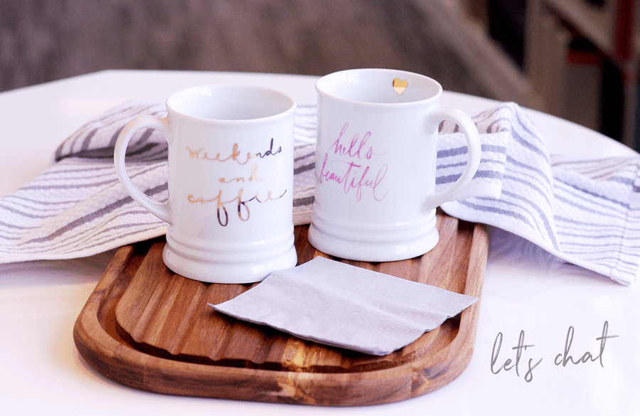let's chat over two mugs on table